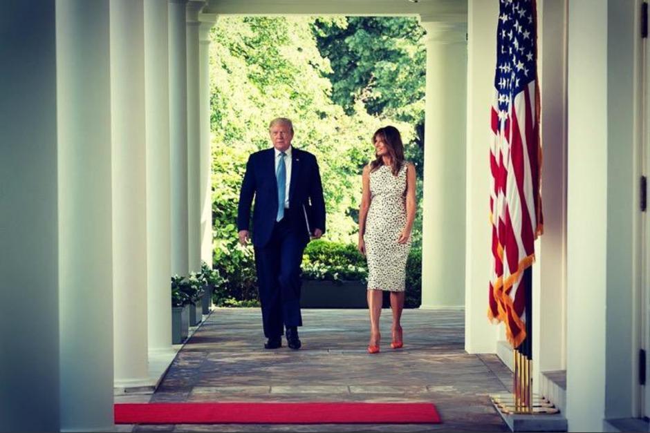 El presidente Donald Trump se ha resistido a aceptar su derrota ante Joe Biden. (Foto: @FLOTUS/Twitter)