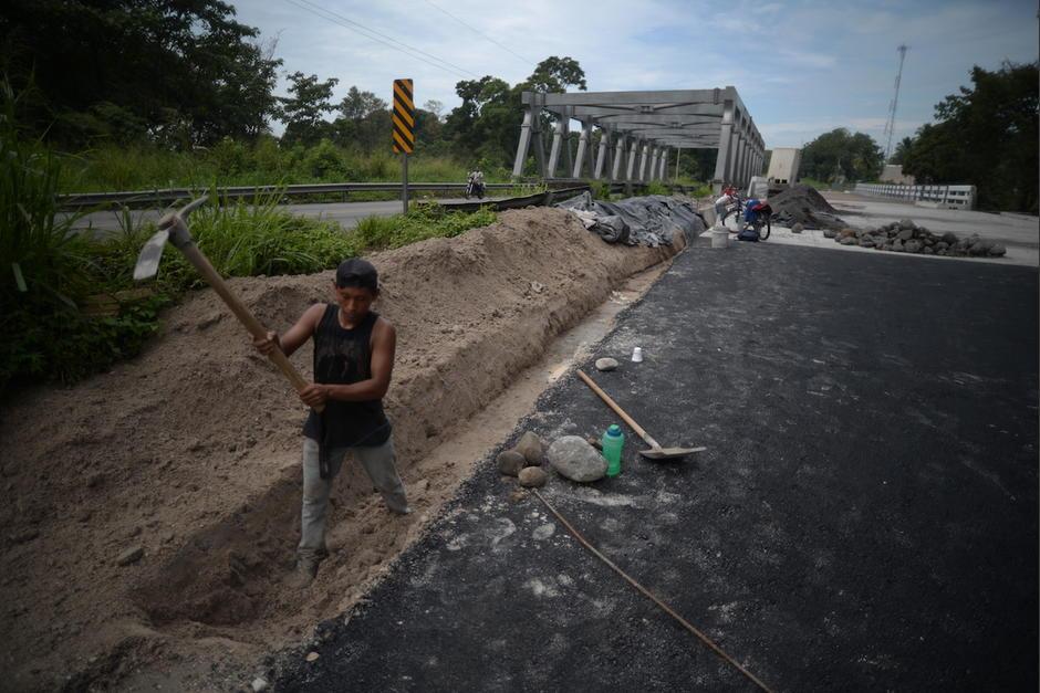 El Puente San Francisco, ubicado en Tiquisate, era uno de los proyectos que debía construir la constructora brasileña Norberto Odebrecht. (Foto: Wilder López/Soy502)