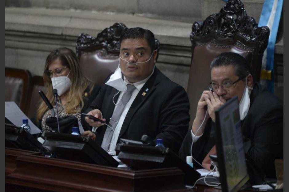El presidente del Congreso, Allan Rodríguez, es socio de la dueña de una constructora que concluye obras abandonadas por Odebrecht. (Foto: Wilder López/Soy502)