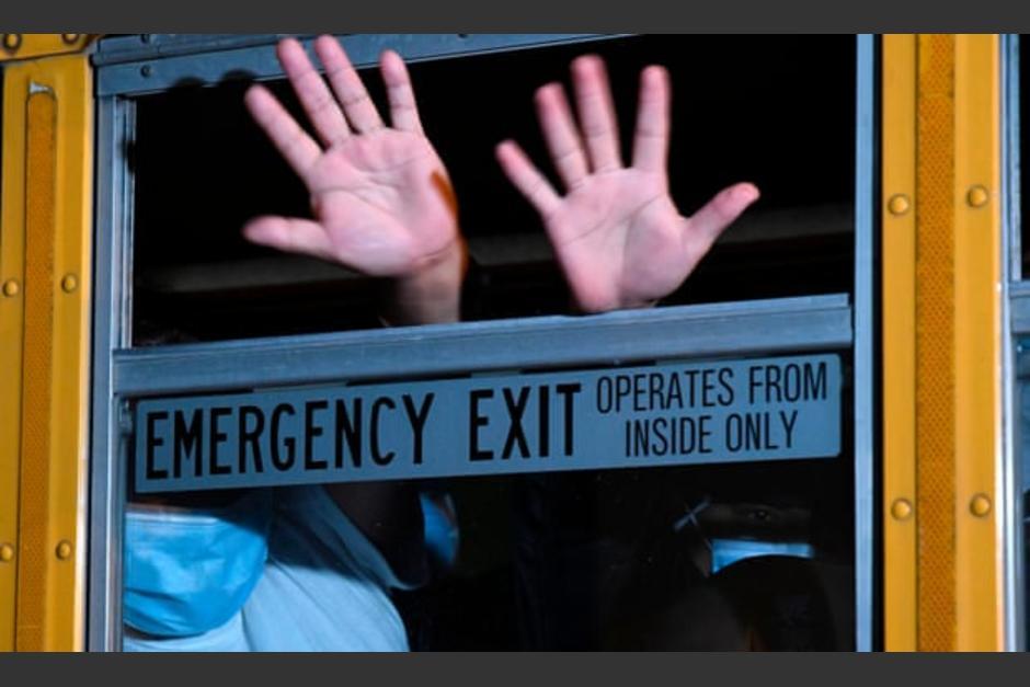 Cientos de niños migrantes de Guatemala han sido deportados desde EE.UU. (Foto: AFP)