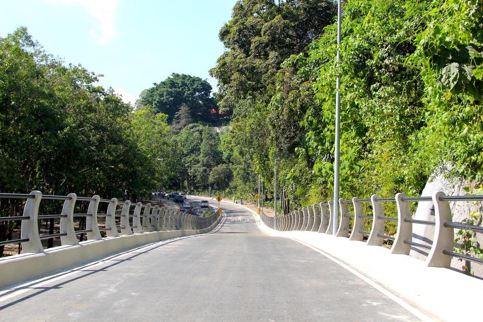 Se diferencia del resto por ser un puente y no un viaducto. (Foto: Fredy Hernández/Soy502)