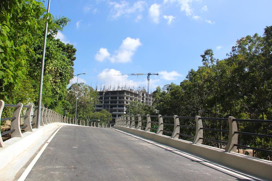 La obra se empezó a construir en junio y este 11 de noviembre fue habilitada. (Foto: Fredy Hernández/Soy502)