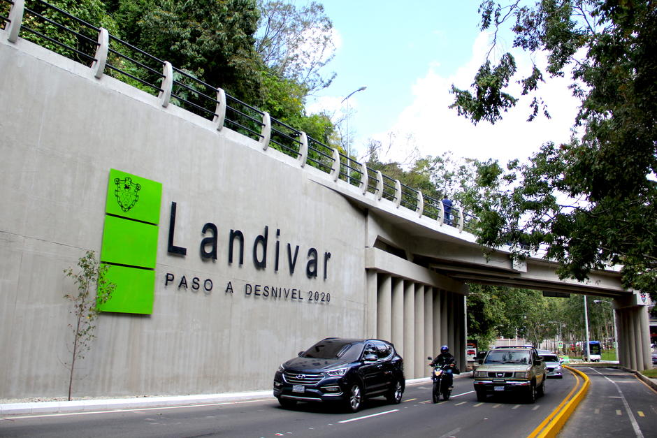 El nuevo paso a desnivel permitirá un mejor flujo hacia el bulevar Vista Hermosa. (Foto: Fredy Hernández/Soy5020