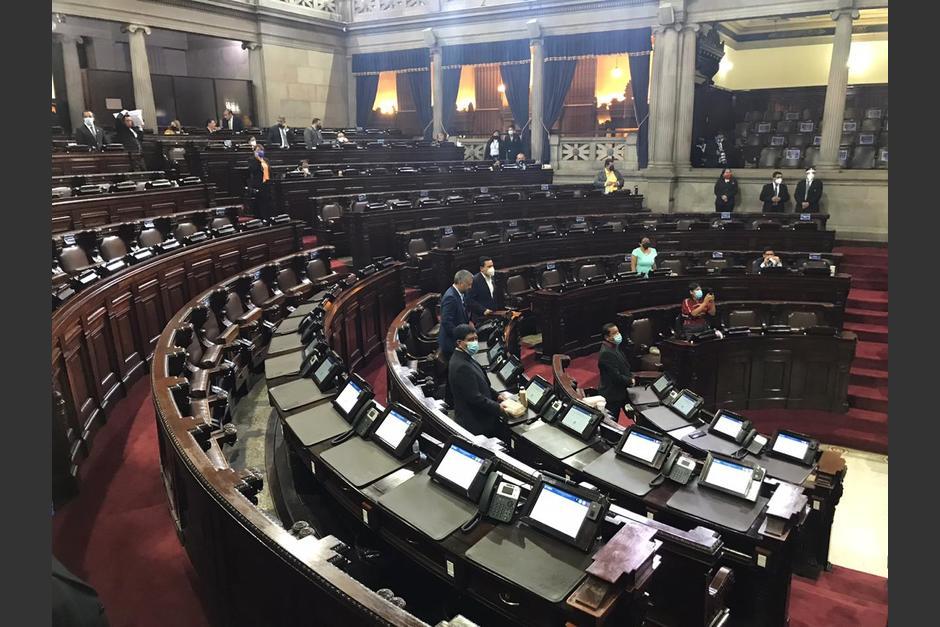 Varios diputados solo llegaron a marcar su asistencia y se fueron. (Foto: cortesía José Castro)