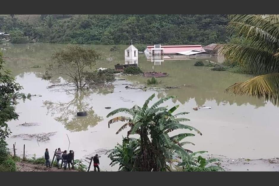 Alejandro Giammattei indicó que la aldea Campur será trasladada. (Foto: captura de video)