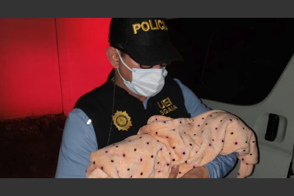 La PNC informó que la madre fue drogada para robarle a la menor. (Foto: PNC)