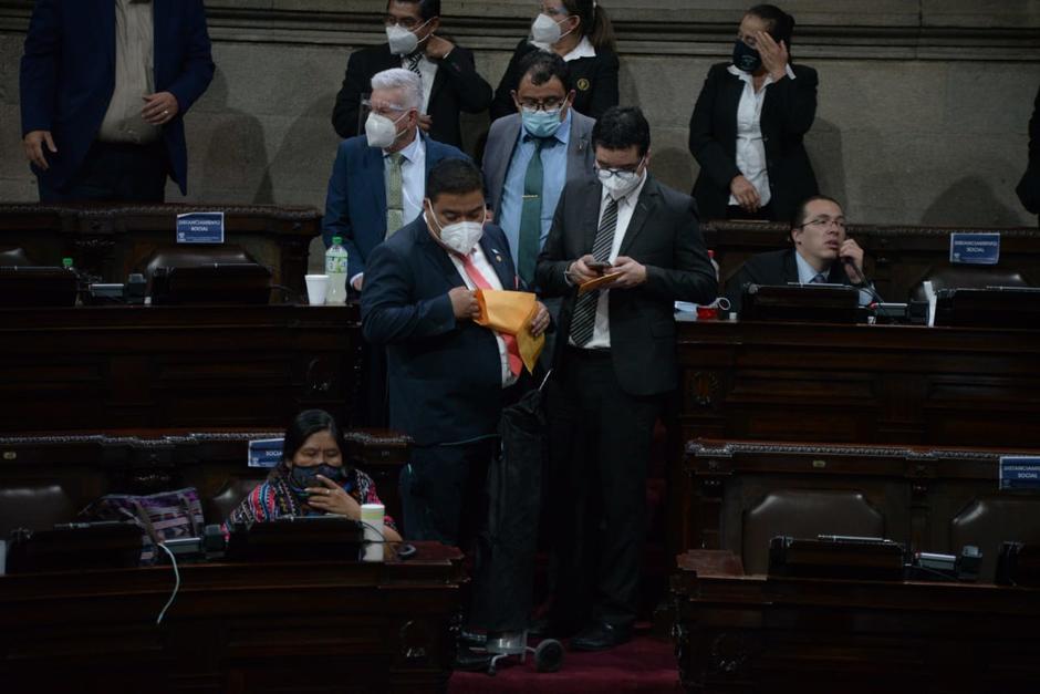 El Congreso aprobó el miércoles de madrugada un polémico presupuesto. (Foto: Wilder López/Soy502)