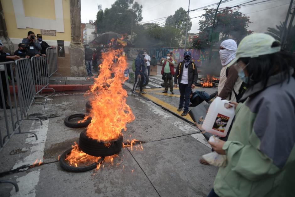 Diputados indicaron que la Junta Directiva del Congreso pidió la protección de la PNC. (Foto: Wilder López/Soy502)
