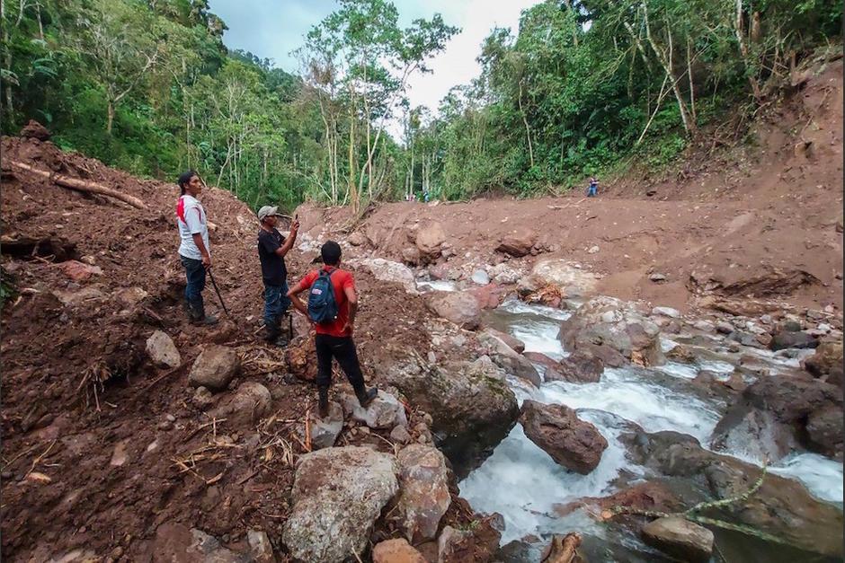 Iota, el segundo en golpear la región este mes, que dejó al menos 44 muertos en deslaves e inundaciones. (Foto: AFP)