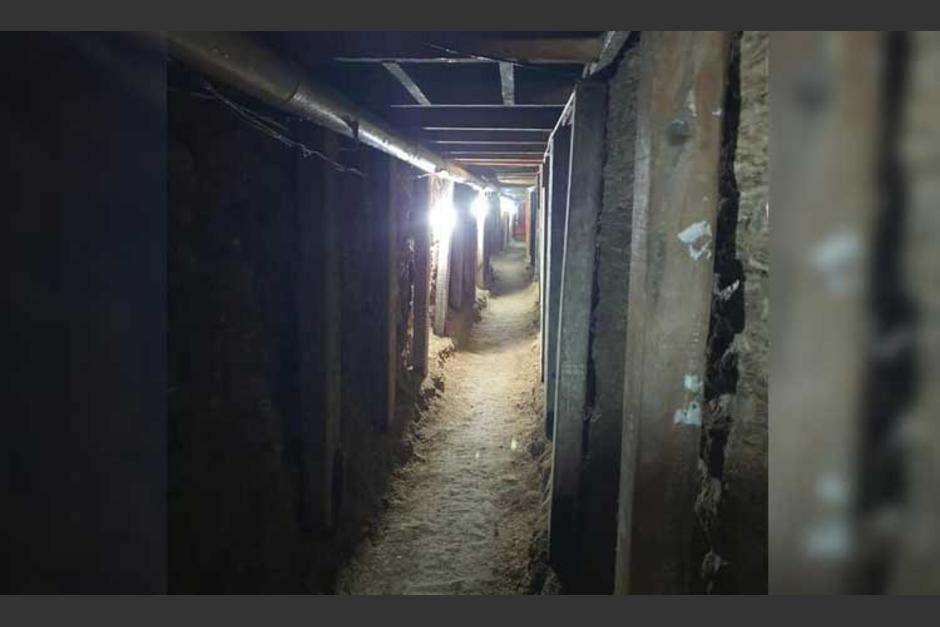 Las autoridades encontraron el túnel tras un primer intento de los ladrones por tratar de entrar a una sucursal de valores. (Foto: Pasa en México)