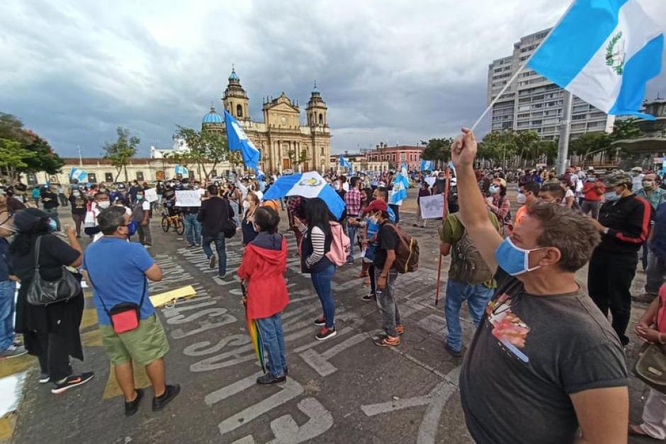 El sábado 21 de noviembre se realizará una manifestación pacífica en la Plaza de la Constitución. (Foto: Archivo/Soy502)