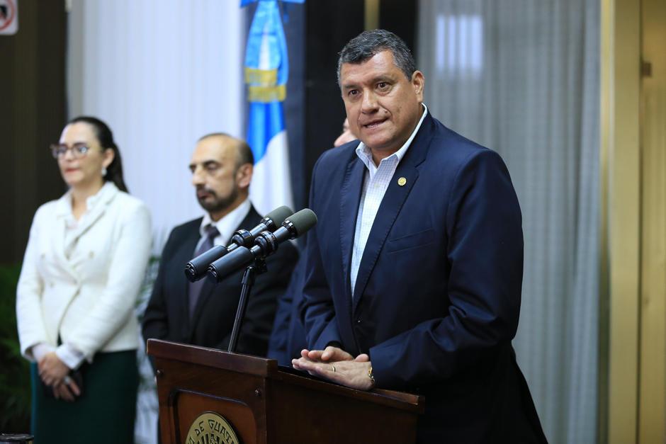 El vicepresidente Guillermo Castillo propuso renunciar al cargo. (Foto: archivo)