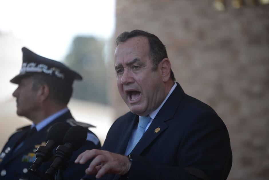 El presidente Alejandro Giammattei amenazó con actuar contra actos vandálicos en la manifestación. (Foto: Archivo/Soy502)