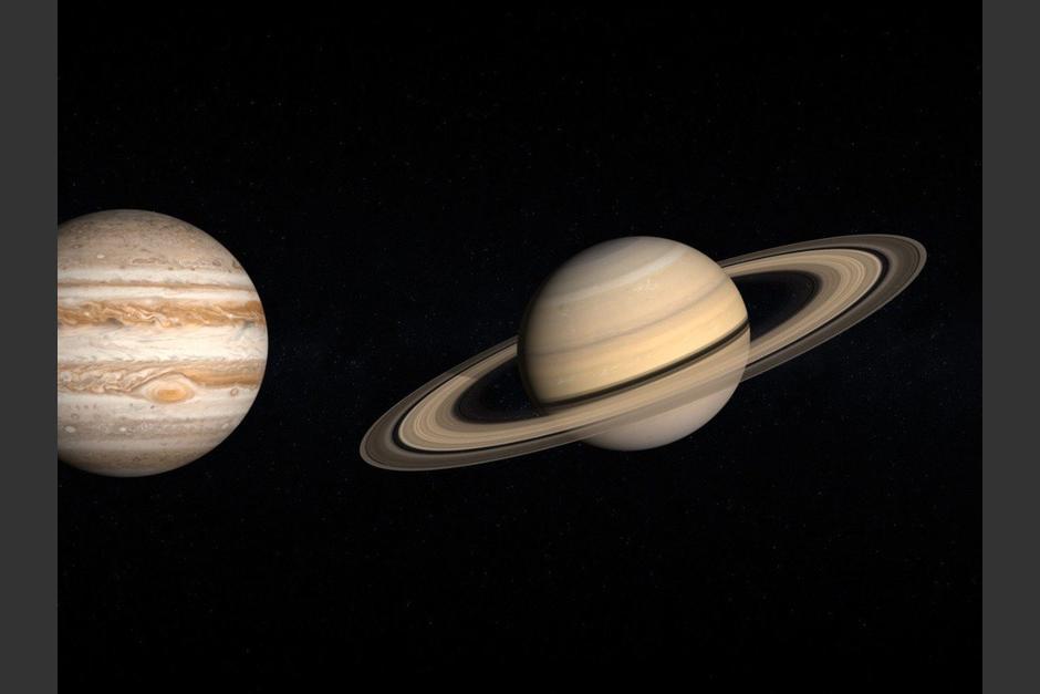 Júpiter y Saturno parecen un planeta doble en diciembre