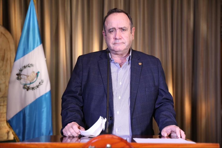 El presidente Alejandro Giammattei ordenó apelar a la Carta Interamericana. (Foto: Archivo/Soy502)