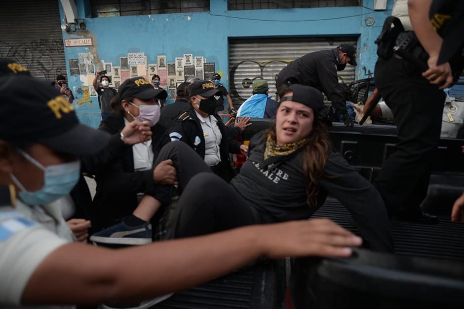 Melissa Mencos trabaja como corresponsal de AGACINE (Fotografía: Wilder López / Soy502)