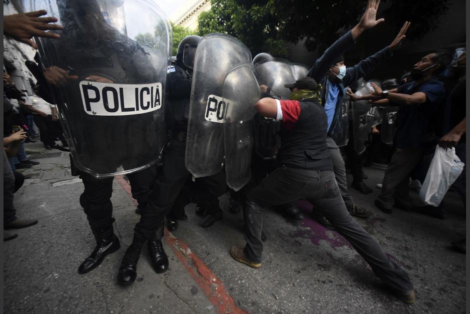 Las fuerzas de seguridad del país están siendo señaladas de actuar con brutalidad. (Foto: AFP)