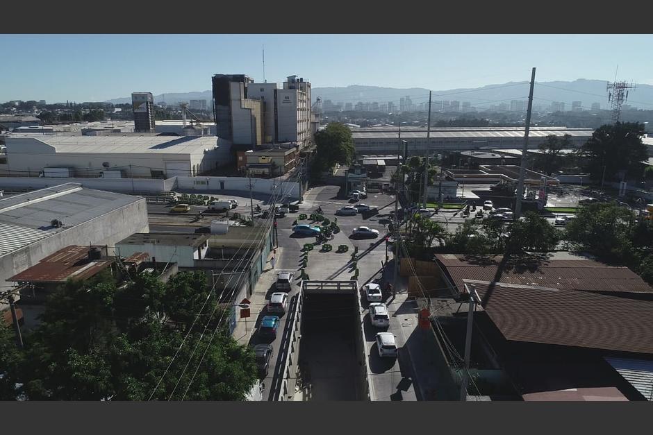La obra tomó cerca de ocho meses para su construcción. (Foto: Municipalidad de Guatemala)