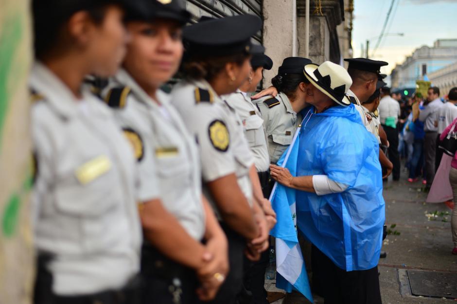 La Policía Nacional Civil utilizó un video que generó reacciones en los usuarios. (Foto: Wilder López/Soy502)