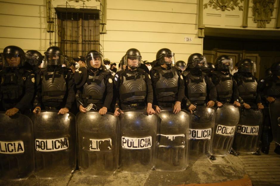 Hasta el momento, no se han registrado heridos o capturas. (Foto: Alexis Batres/Soy502)