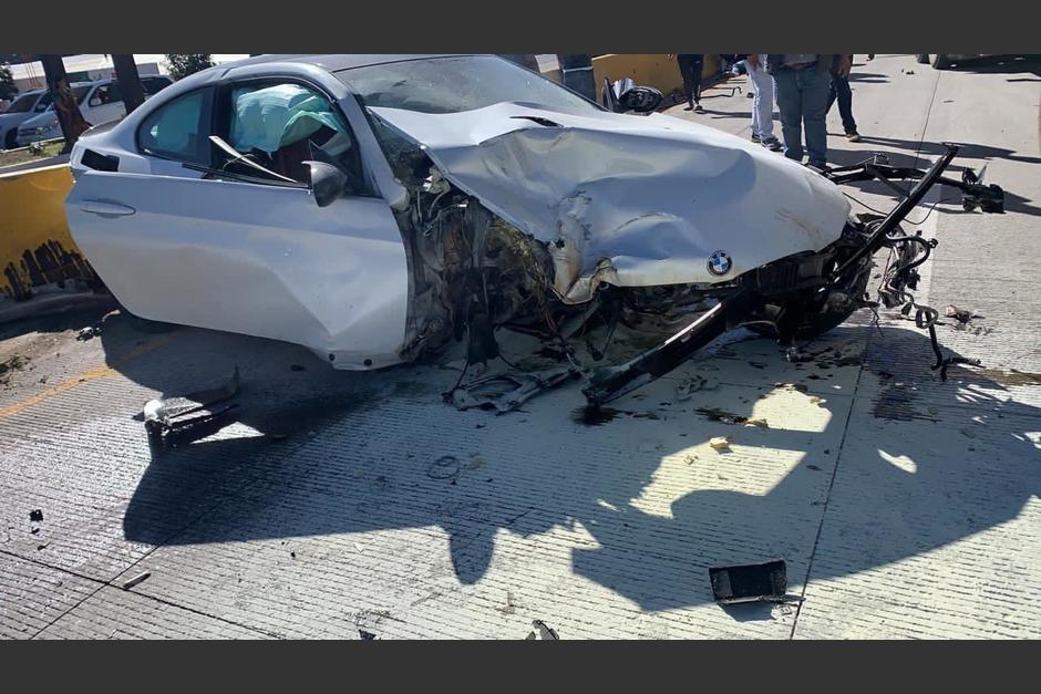 El accidente se produjo en Tecpán, Chimaltenango. (Foto: Cortesía)