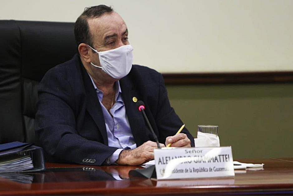El presidente de Guatemala aseguró que el país ya vive la segunda ola de contagios. (Foto: SCSPR)