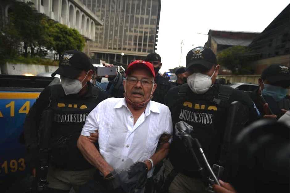 """El exguerrillero César Montes era considerado como un """"objetivo"""" para el Gobierno de Alejandro Giammattei. (Foto: Archivo/Soy502)"""