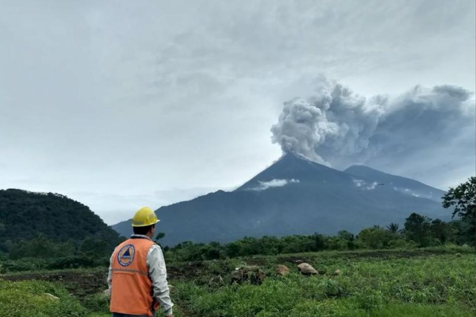 La erupción del Volcán de Fuego ocurrió el tres de junio de 2018. (Foto: archivo/Soy502)