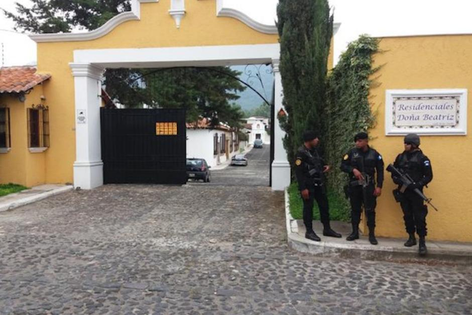 Vista del ingreso al lujoso condominio en Antigua Guatemala. (Foto: con fines ilustrativos / archivo / scoopnest )