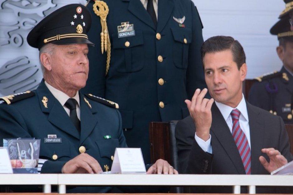 Salvador Cienfuegos fue el secretario de Defensa durante el gobierno del presidente Enrique Peña Nieto. (Foto: Cuarto Oscuro)