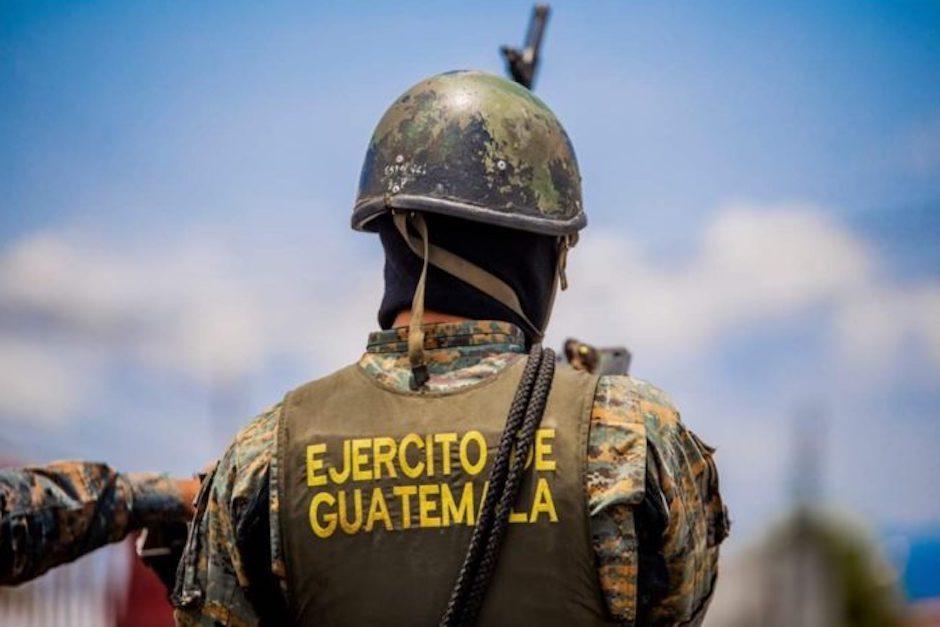 El Ministerio Público continúa la investigación para determinar la finalidad de este material. (Foto ilustrativa: Ejército)
