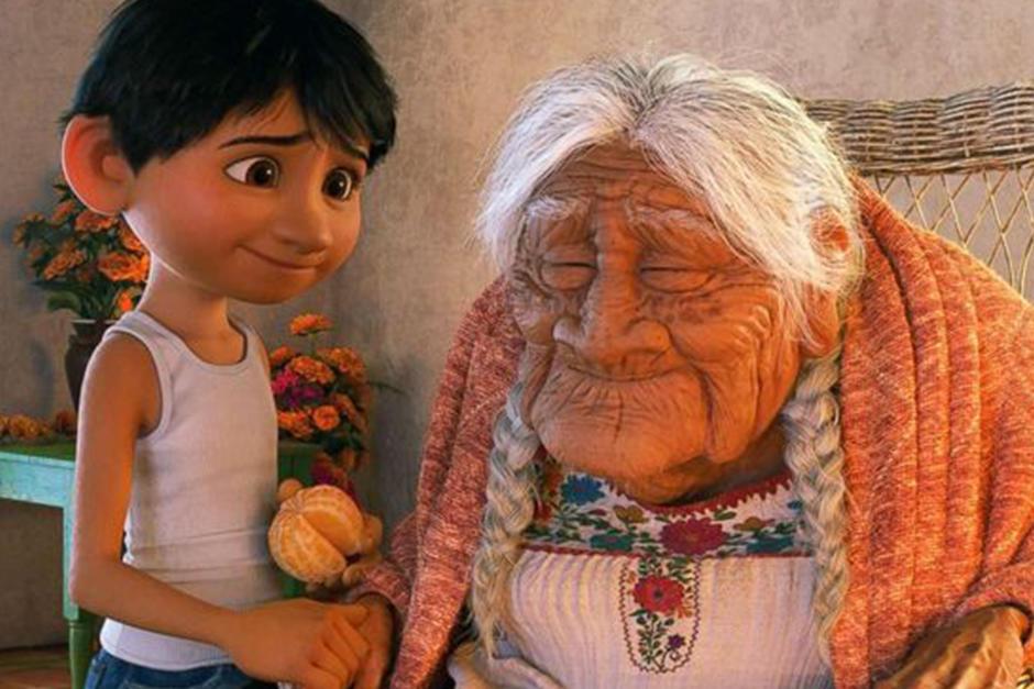 """María Salud Ramírez es el nombre de quien inspiró el personaje de """"Mama Coco"""". (Imagen: Pinterest)"""