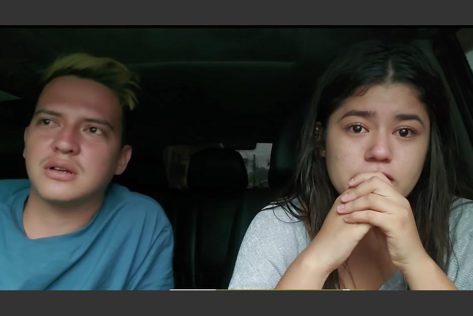 Los youtubers grabaron en video toda la tensión vivida en una aldea en Sololá. (Foto: The good chapín)