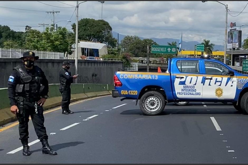 Las autoridades cerraron el paso en el lugar. (Foto: Amilcar Montejo/PMT)