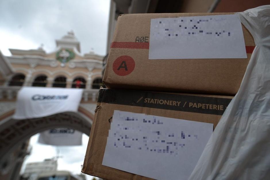 Cuatro paquetes fueron enviados al mismo número de voluntarios en el interior del país. (Foto: Wilder López/Soy502)