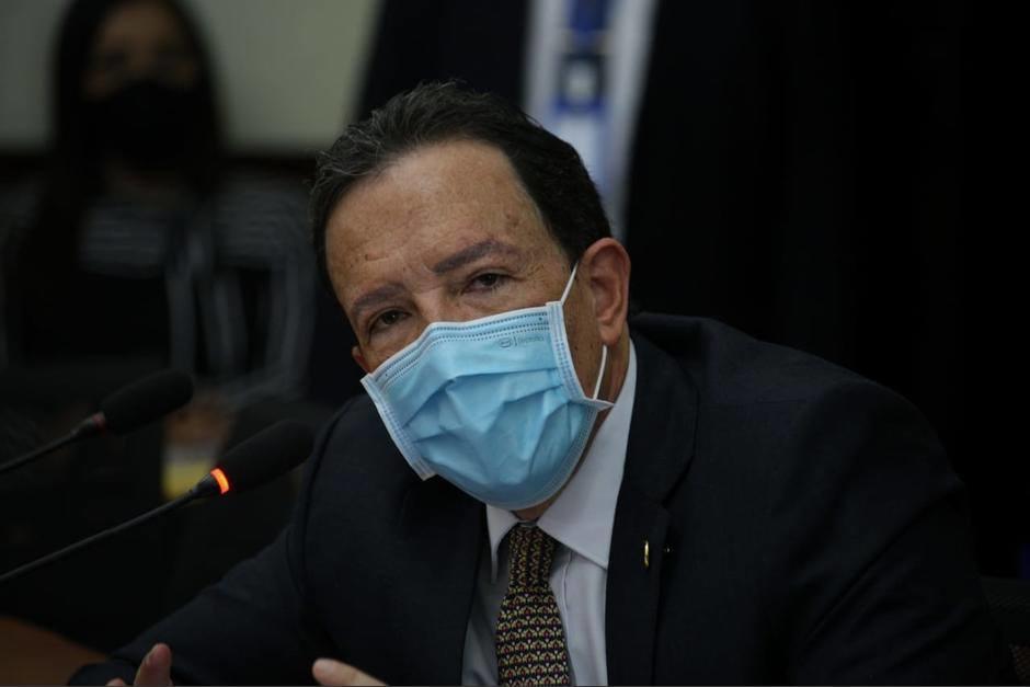 El ministro de Finanzas, Álvaro González Ricci, habló sobre el destino de los Q135 millones de Caminos. (Foto: Archivo/Soy502)
