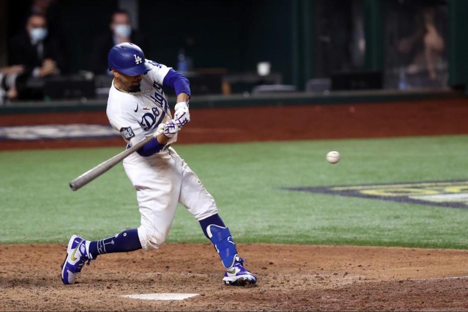 Los Dodgers son los campeones en el 2020 de la Serie Mundial. (Foto: AFP)