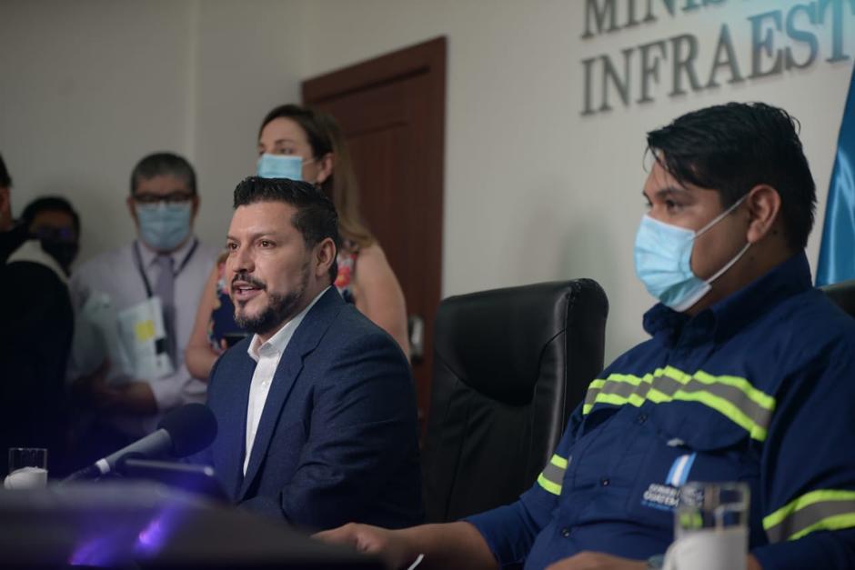Autoridades del Ministerio de Comunicaciones son denunciadas ante el MP. (Foto: Wilder López/Soy502)