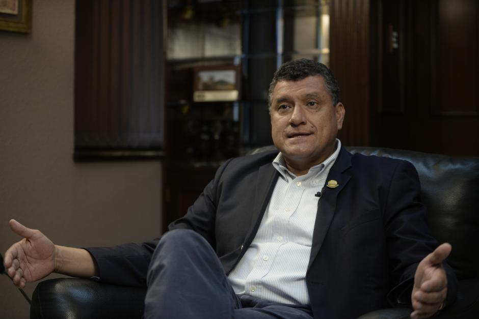 El vicepresidente Guillermo Castillo recomendó la separación del cargo del Ministro de Comunicaciones. (Foto: archivo/Soy502)