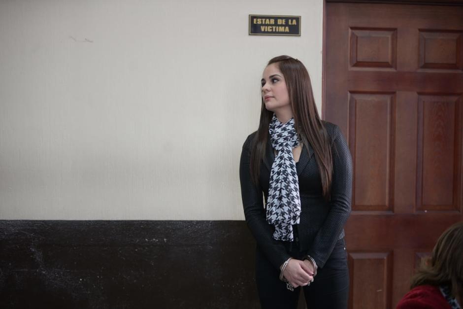 Saray Villavicencio enfrenta el proceso penal en prisión preventiva. (Foto: archivo/Soy502)