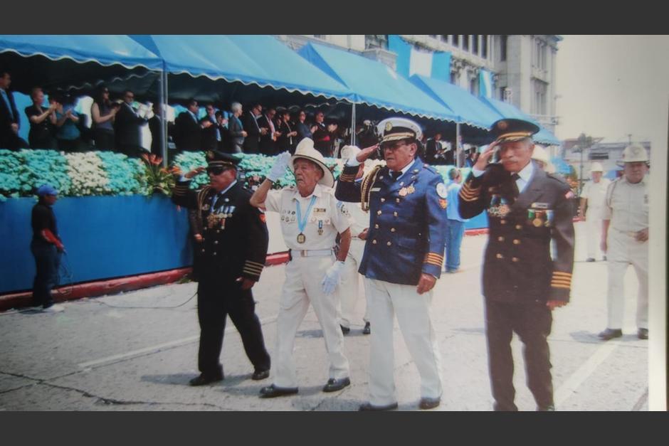 Durante el desfile del 15 de septiembre en Guatemala. (Foto: Cortesía/Soy502)