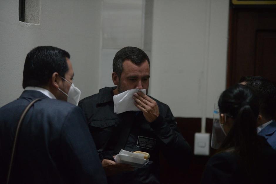 Abogados de Sinibaldi le recomendaron abstenerse de hablar con la prensa. (Foto: Wilder López/Soy502)