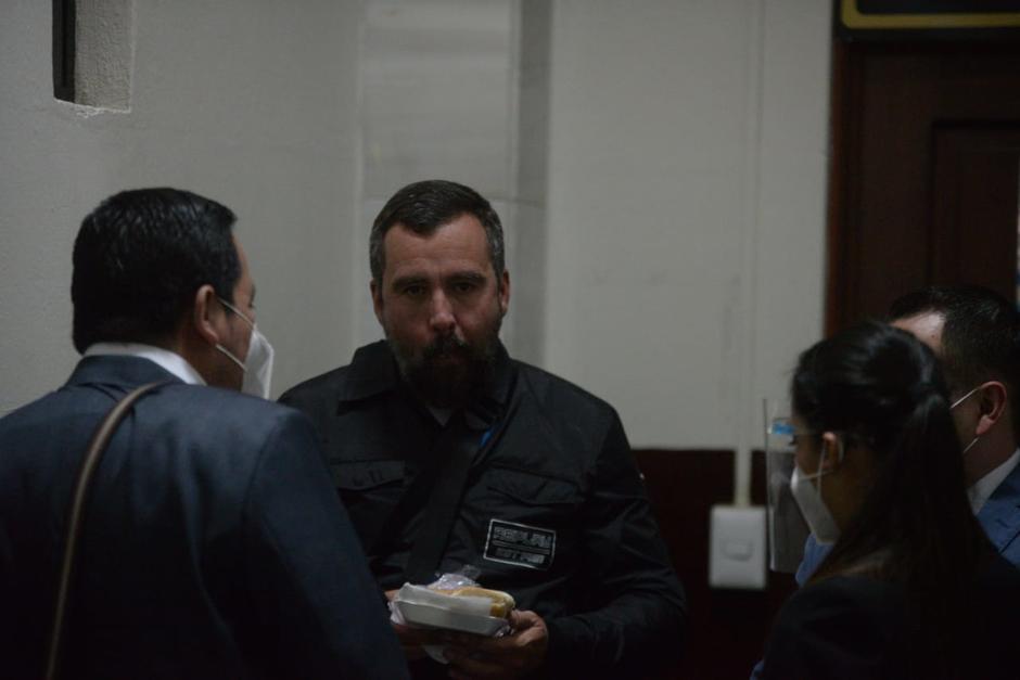 Alejandro Sinibaldi declaró en el caso Cooptación del Estado. La declaración se encuentra bajo reserva. (Foto: Wilder López/Soy502)