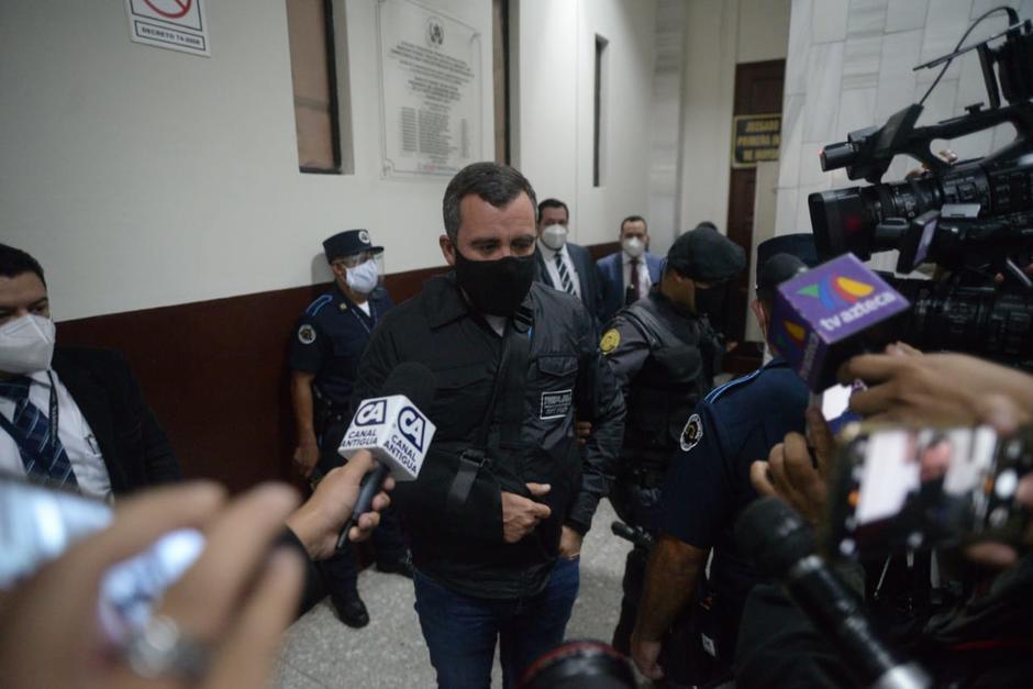 Sinibaldi informó que ya no dará conferencias de prensa. (Foto: Wilder López/Soy502)