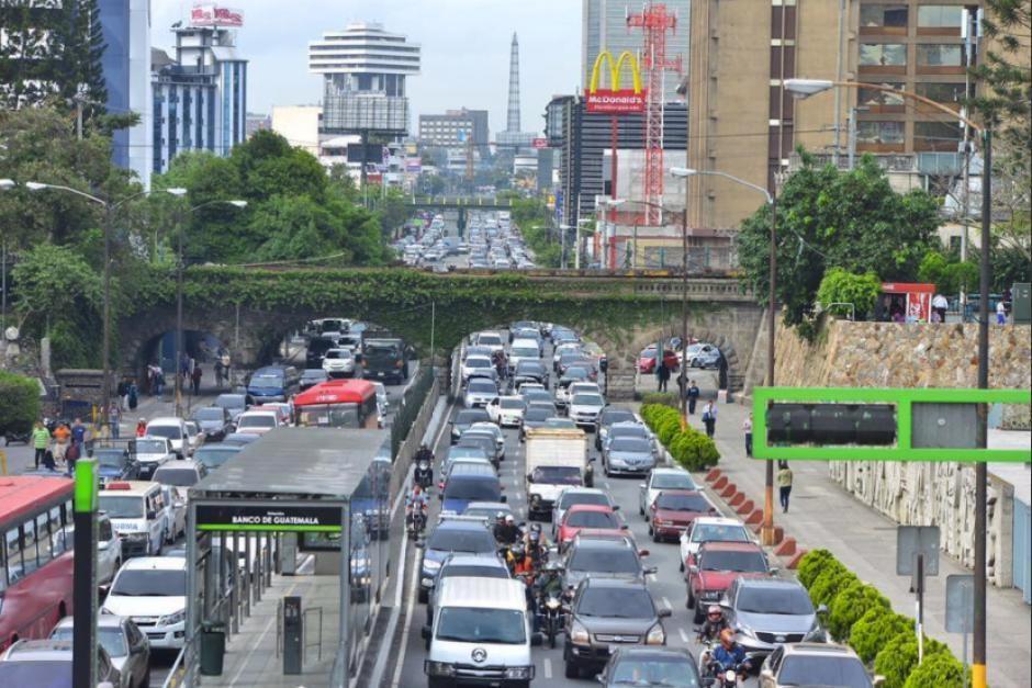 Los manifestantes aseguran que bloquearán el paso frente al Congreso por lo que se complicará el tránsito. (Foto: Archivo/Soy502)