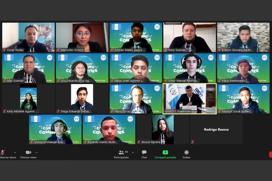 La Selección de Robótica que representará a Guatemala en el mundo