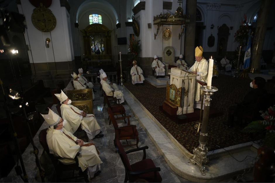 Obispos guatemaltecos, a través de la CEG, hablan de corrupción e impunidad, en las fiestas de independencia. (Foto: Archivo/Soy502)