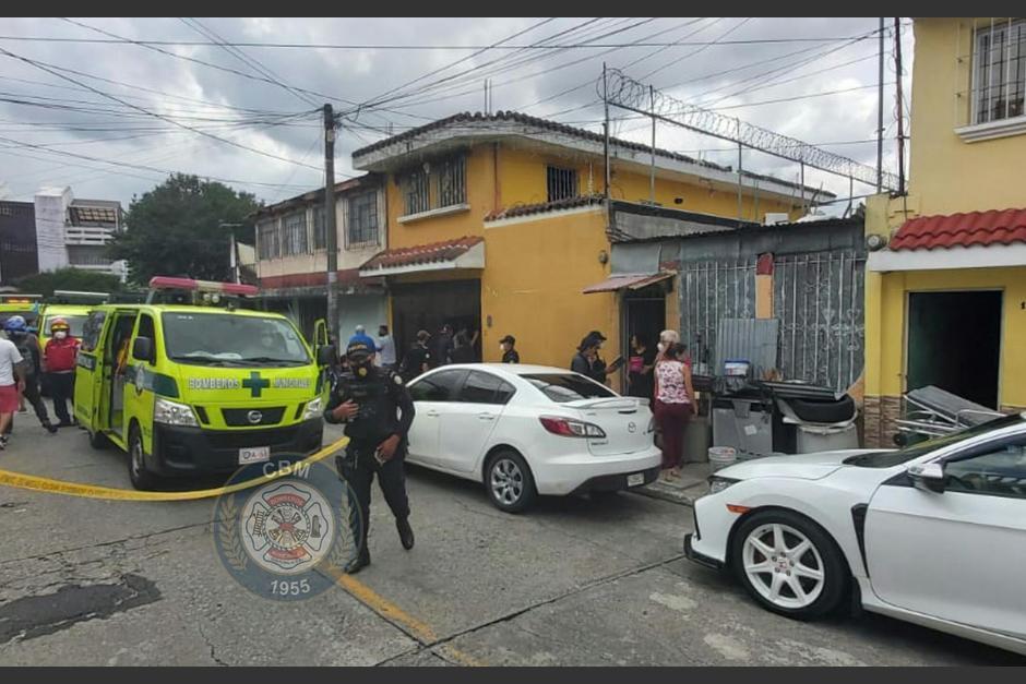 Tres de las víctimas son familiares, la cuarta no ha sido identificada. (Foto: Bomberos Municipales)