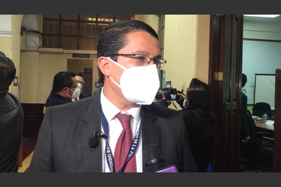 Por el contrato de arrendamiento, el Segundo Registro de la Propiedad paga 2,500 quetzales al mes. (Foto: cortesía José Castro)