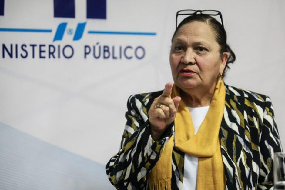 Consuelo Porras cumplió en mayo dos años de estar al frente del Ministerio Público. (Foto: archivo/Soy502)